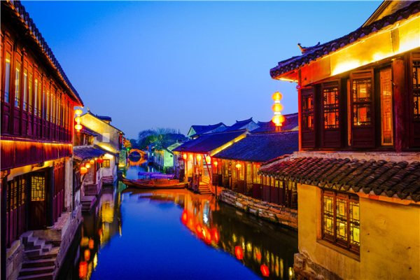 Taste Zhouzhuang in silent night