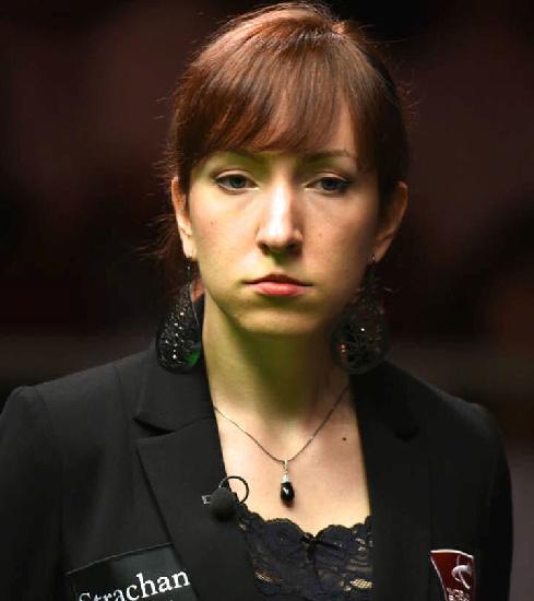 Snooker Schiedsrichterin Tatjana