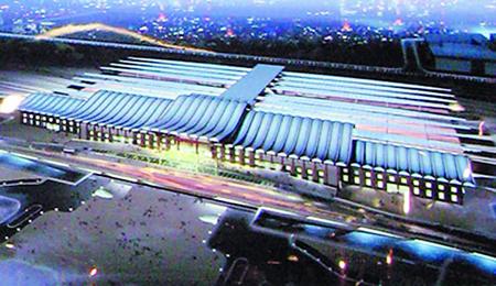济南西客站片区规划展近期开放