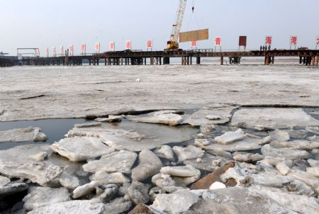 East China coast sees worst sea ice in three decades