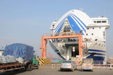 渤海宝珠轮正式投入烟台至大连航线运营
