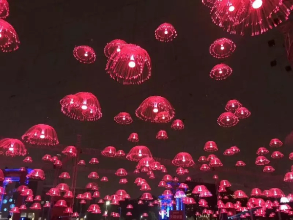 Gorgeous Light Show On Display In Yantai Golden Beach 1