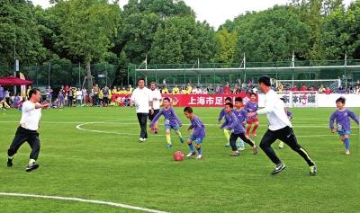 Soccer gala opens in Shanghai