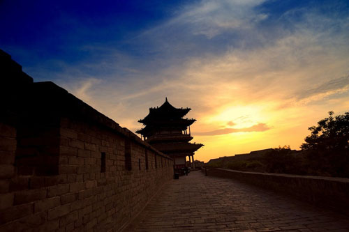 City walls document history of Pingyao