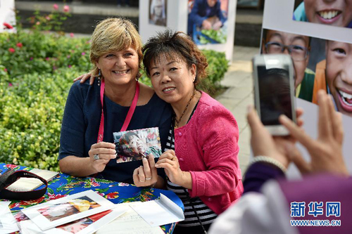 French woman tells her China story with photos
