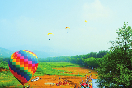 Taiyuan holds paragliding tournament