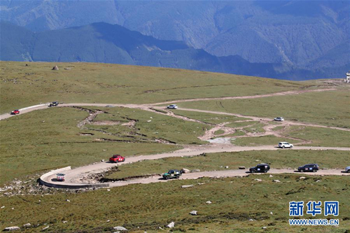Xinzhou hosts off-road rally