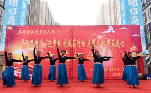 Taiyuan residents celebrate moon festival
