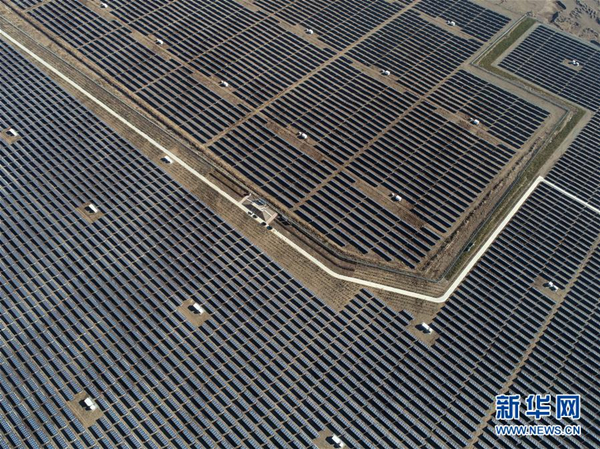 PV station benefits rural households in Shanxi