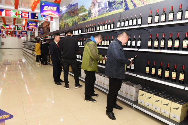 Shanxi import-export products center opens to public