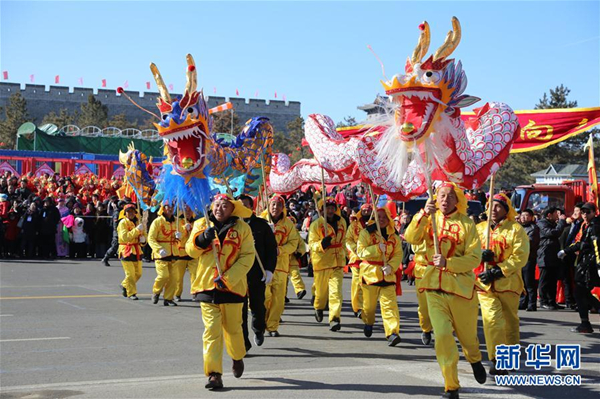 Traditional folk shows mark approaching Lantern Festival