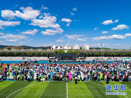 Drone photography event opens in Qinyuan county