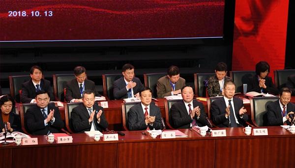 Shanxi Committee of Jiusan Society celebrates 60th birthday at SXU