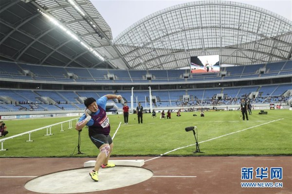 Women's shot put concludes in Shenyang