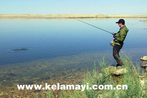 Karamay builds lure fishing base