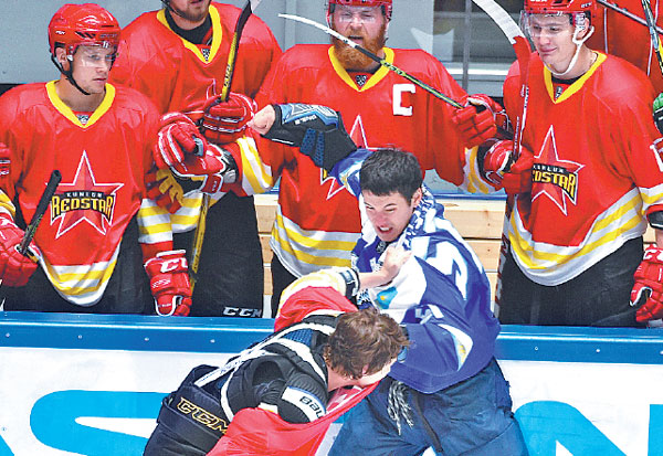 Hockey adult east petersbrug
