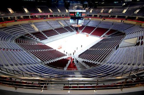 Nba Level Beijing Olympic Basketball Gym Starts Operation