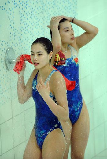 huiduitslag na douchen