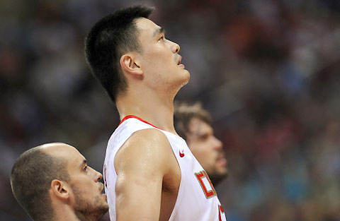 China lost to Spain85-75atmen's basketball