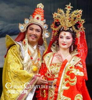 Songtsan Gambo and Princess Wencheng