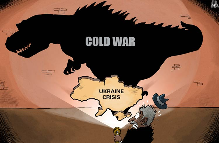 cold war and a new western The soviet union was determined to have a buffer zone between its borders and western the cold war and the nuclear arms he also added five new army divisions.