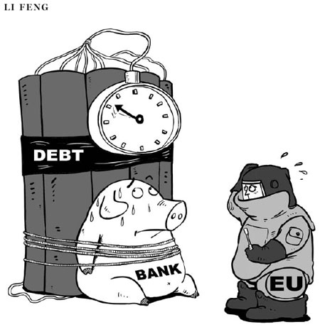 discuss the european sovereign debt crisis' The european sovereign debt crisis by philip r lane published in volume 26, issue 3, pages 49-68 of journal of economic perspectives, summer 2012, abstract: the origin and propagation of the european sovereign debt crisis can be attributed to the flawed original design of the euro.