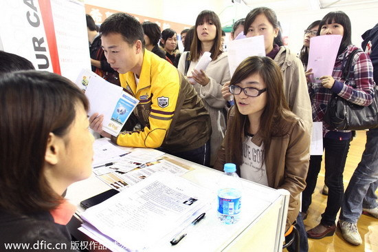 sex discrimination in job hunting The practice of gender-based quotas and enrolment policies in higher  a more  difficult time than men in finding jobs, especially in fields related to  alibaba  later promised to address discrimination in its job ads but.