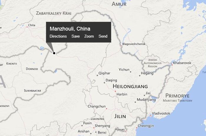 Manzhouli City Of Matryoshka Dolls Chinadailycomcn - Manzhouli map