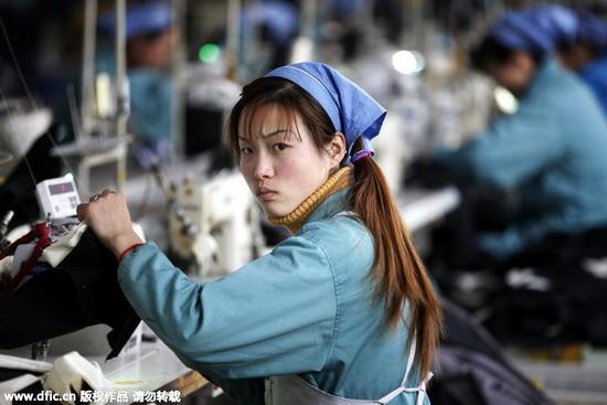 Bir Çinli işçi- chinadaily.com.cn