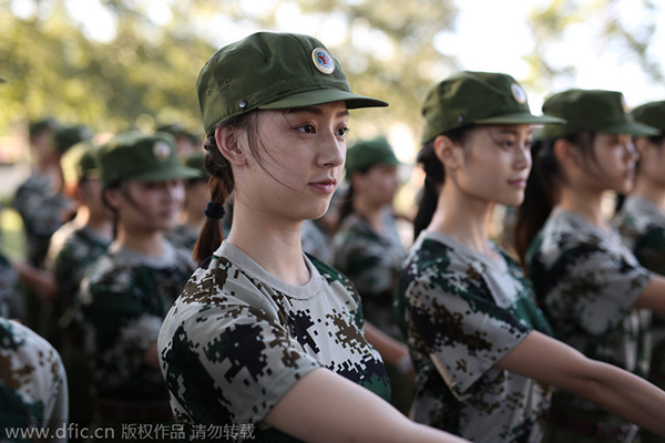 They even went through basic training recommend