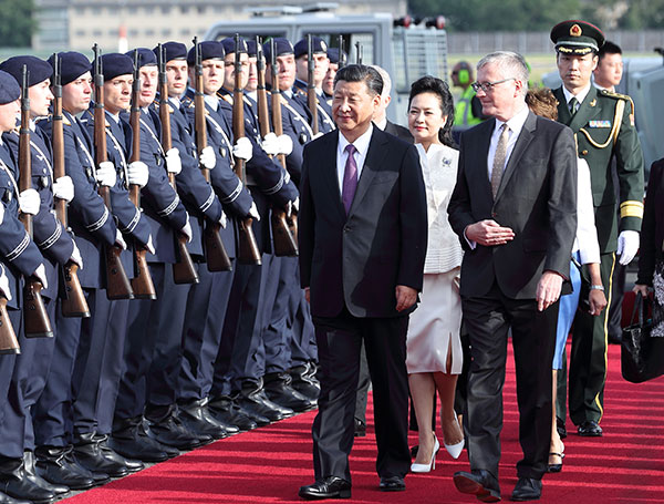 China-Germany ties a model for cooperation