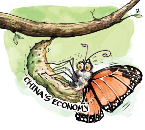 经济结构调整带来阵痛却至关重要