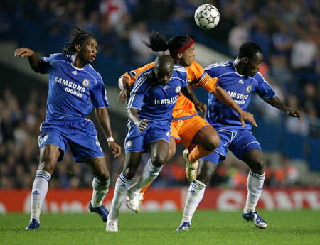 Chelsea barcelona  1-0