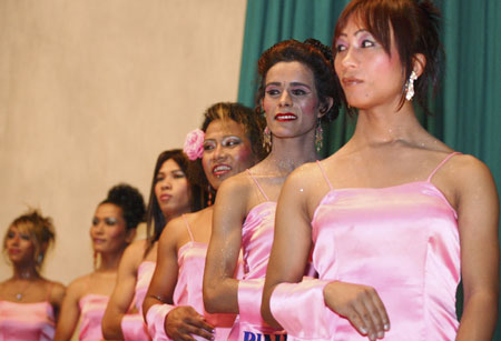 Homosexual beauty contest in Nepal. (Reuters) Updated: 2007-05-18 17:09