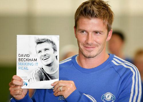 David Beckham signed a...