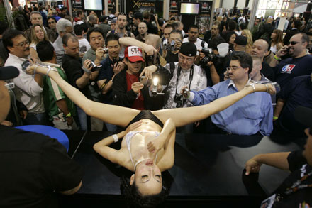 ... Adult Video News (AVN) Adult Entertainment Expo in Las Vegas January 12, ...