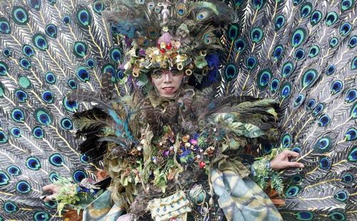 Fashion carnival in Jakarta