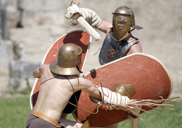 life of a gladiator in ancient rome