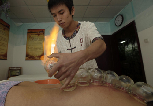 Erotic cupping