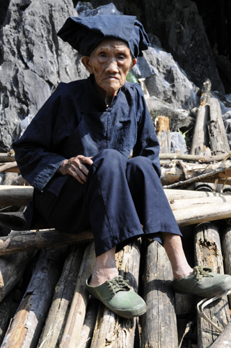 Luo Meizhen, the longest living Chinese