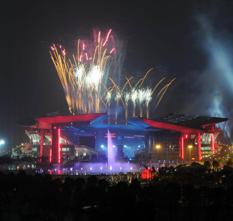 Photos: Opening ceremony of Asian Para Games