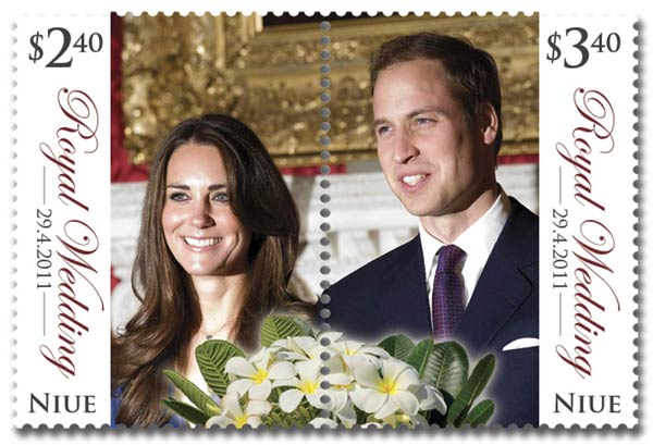 royal wedding stamps 2011. A Royal Wedding stamp from the
