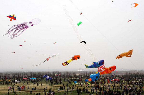 the kite runners in e. china