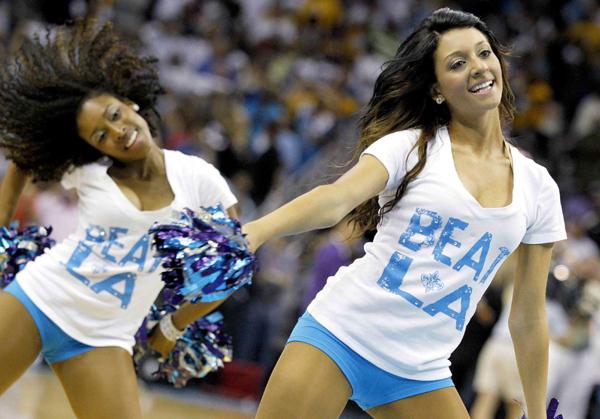 Nba players dating cheerleaders