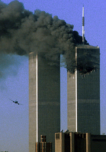 osama bin laden twin towers. In photos: Osama bin Laden is