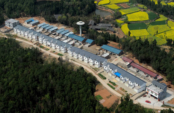 Post-quake reconstruction projects in SW China