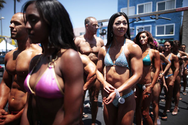 Memorial Day bodybuilding contest