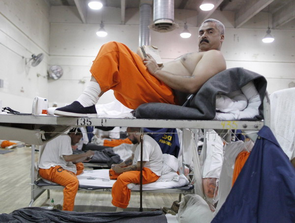 Chino Prison California California Prison Stretched