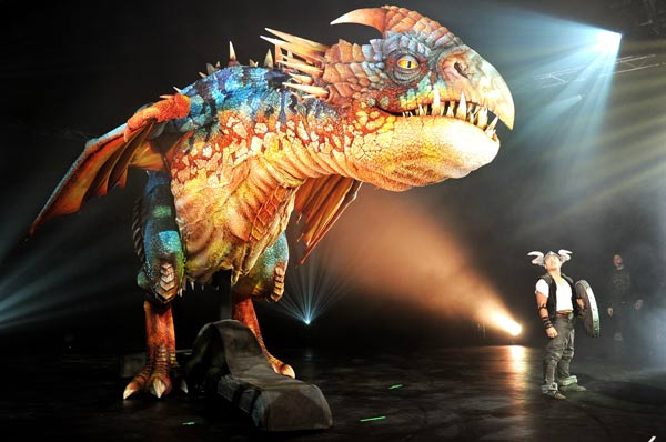 Dragon show to tour world|World|chinadaily.com.cn