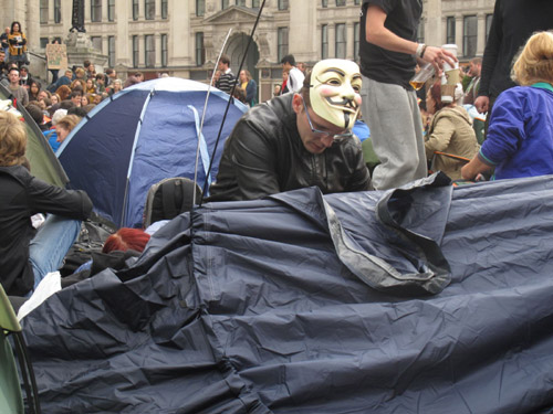 Occupy London Stock Exchange continues